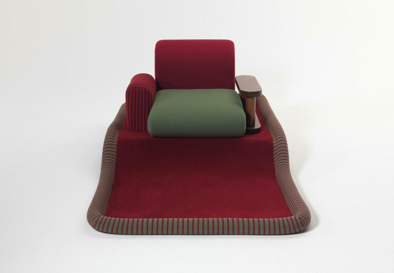 Ettore Sottsass, Fauteuil dit Tappeto Volante 1974