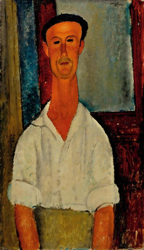 Amedeo Modigliani, Gaston Modot [1918]