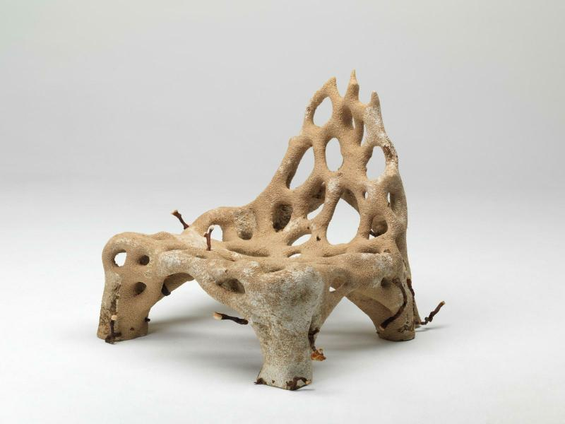 Studio Klarenbeek & Dros, Mycelium chair 2018 - 2019