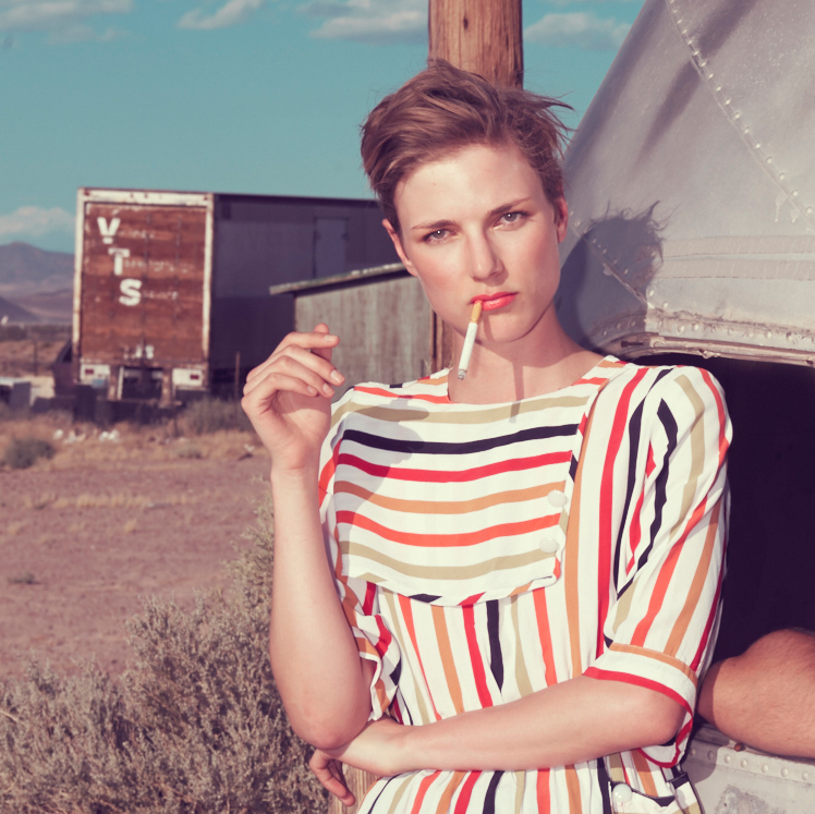 Portrait de la photographe Kourtney Roy  © Kourtney Roy