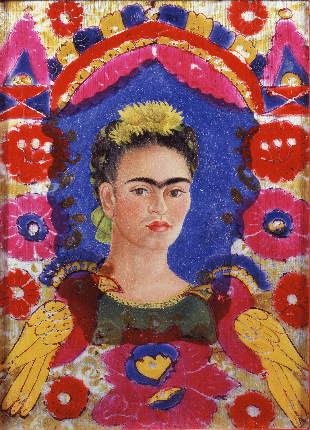 Frida Kahlo, « The Frame », 1938