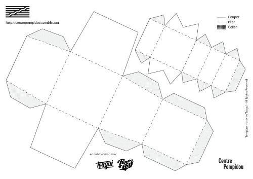 L 39 v nement papertoy roy lichtenstein centre pompidou for Architecture utopique 60