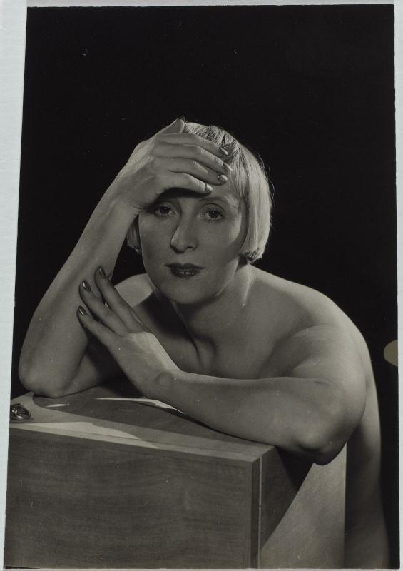 Man Ray, Portrait of Suzy Solidor, 1929, Centre Pompidou, Paris, France.