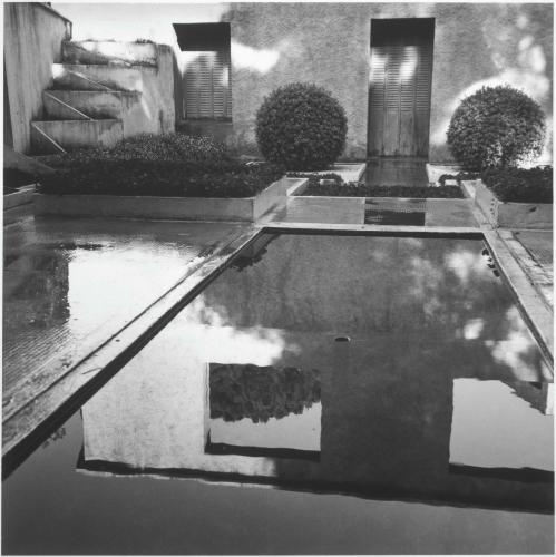 L\'œuvre Le jardin cubiste de Guévrékian - Centre Pompidou