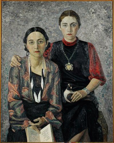 Résultat d'images pour la fille et la femme de l'artiste beaubourg