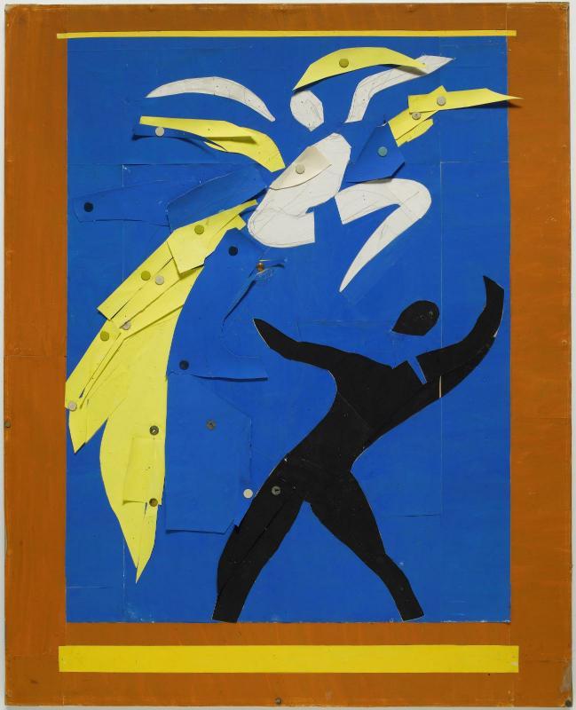 Extrêmement L'œuvre Deux danseurs - Centre Pompidou GI11