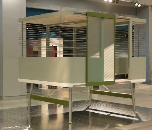 l 39 uvre lit clos centre pompidou. Black Bedroom Furniture Sets. Home Design Ideas