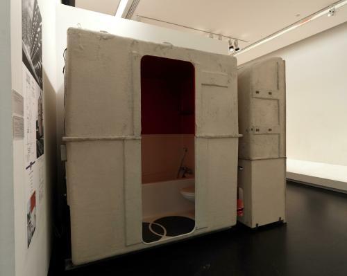 l 39 uvre bloc salle de bains les arcs 1800 centre pompidou. Black Bedroom Furniture Sets. Home Design Ideas