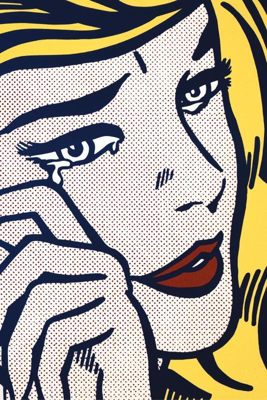 Visite dans l'exposition Roy Lichtenstein - Centre Pompidou