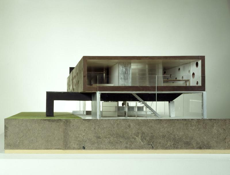 L\'œuvre Maison à Bordeaux - Centre Pompidou