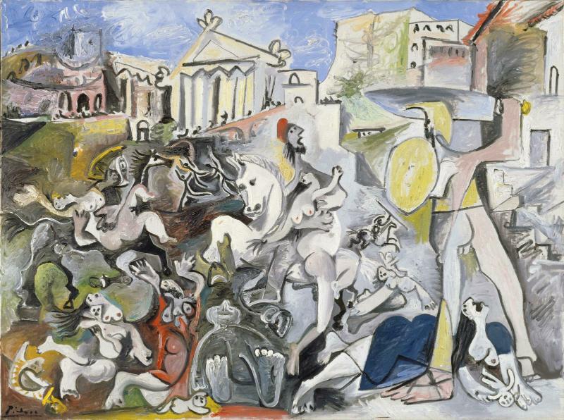 Bien connu L'œuvre L'enlèvement des Sabines - Centre Pompidou MN08