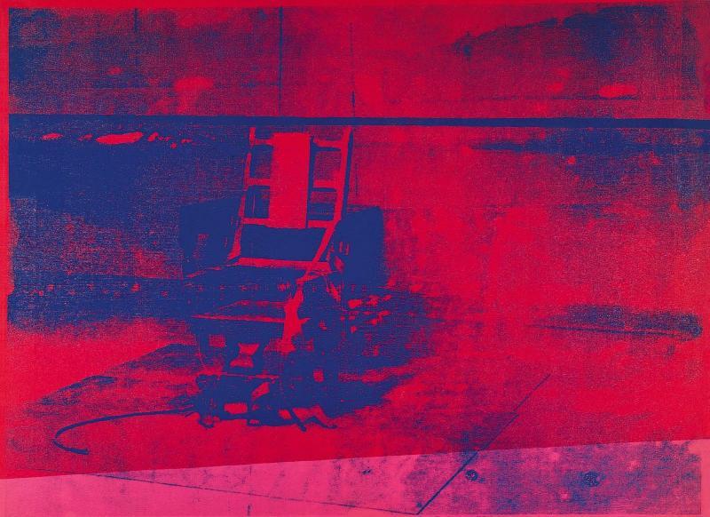 Chaise Electrique Warhol