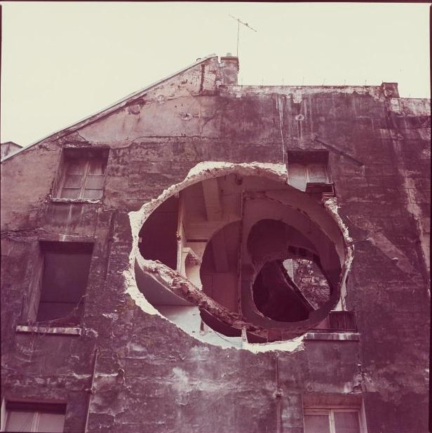 Gordon Matta-Clark, « Detail End », 1975 - repro oeuvre