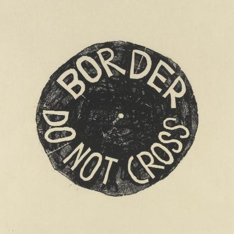 Barthélémy Toguo, « Do not cross Border », 2012 - repro oeuvre